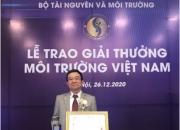 Viện Khoa học và Kỹ thuật Môi trường chúc mừng Viện trưởng, GS. TS. Nguyễn Việt Anh được nhận Giải thưởng Môi trường Việt Nam